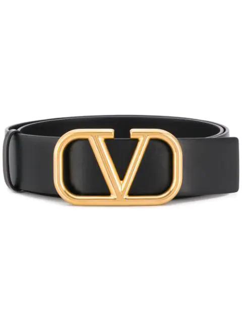 Cinto Valentino Garavani Go com logo